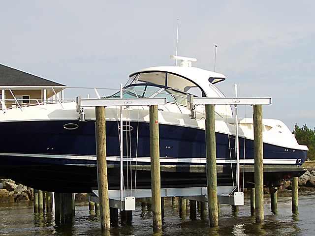Tide Tamer 8 Piling Boat Lifts On Lake Norman Nc