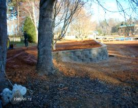 Retaining Wall End